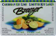 Caribbean Key Lime Breezer