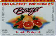 Pink Grapefruit Breezer