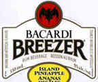 Bacardi Breezer - Island Pineapple