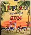Tropicana Light Rum -  Christopher Columbus Rum Co. Ltd., New Westminster, B. C. (ca_12)