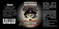 Copperhead Pirate Rum - Spiced