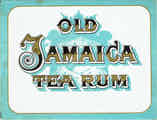 Old Jamaica Tea Rum -  August Strasilla, Opava (cz1701)