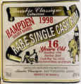 Hampden 1998 Golden Barrel - Alambic Classique, Bad Wörishofen (de_348)