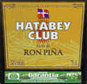 Hatabey Club Licor de Ron Pina