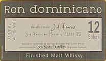 Ron Dominicano Finished Malt Whisky