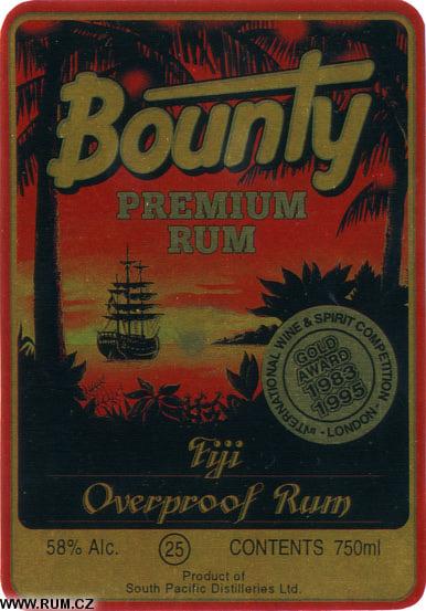 Peter's Rum Labels - South Pacific Distilleries (Fiji)