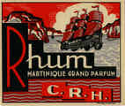 Rhum Martinique -  Imprimerie R. Wolf & Co, Rouen (fr393)