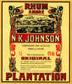 Rhum Ambre Plantation N. K. Johnson
