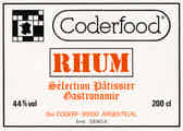 Coderfood Rhum