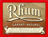 Rhum Garanti Naturel - No 825