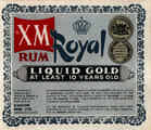 Royal XM Gold rum