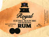Royal Extra Mature Demerara Rum