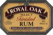 Royal Oak Select Trinidad Rum