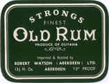 Strongs Finest Old Rum