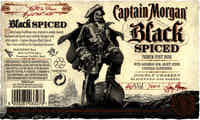 Captain Morgan Black Spiced -  Captain Morgan Rum Distillers (uk342)