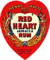 Red Heart Jamaica Rum