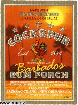 Cockspur Barbados Rum Punch