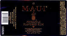 Maui Pineapple Flavored Rum