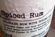 Spiced Rum - Breckenridge Distillery, Breckenridge, CO (us_371)