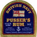 British Navy Pusser